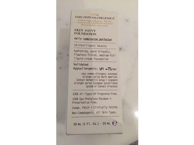 VMV Hypoallergenics Skin Savvy Foundation, 1 fl oz - Image 3