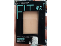 Maybelline New York Fit Me! Matte + Poreless Foundation Powder, 122 Creamy Beige, 0.29 oz / 8.5 g - Image 3