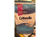 Cottonelle Fresh Care Flushable Cleansing Cloths, 252 Count - Image 3