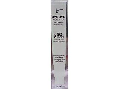 it cosmetics BYE BYE Foundation Full Coverage Moisturizer SPF50+ UVA/UVB, Fair, 1 fl oz,