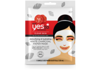 Yes To Tomatoes Detoxifying & Hydrating White Charcoal Paper Mask - Single Use - Image 2