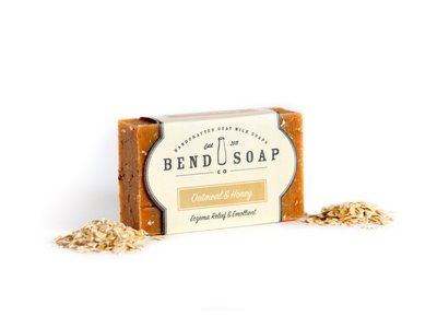 Bend Soap Company Oatmeal & Honey Goat Milk Soap, 4.5 oz