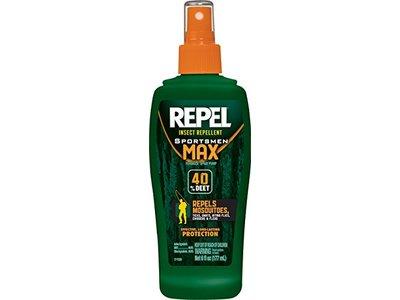 Repel Insect Repellent Sportsmen Max Formula 40% Deet (Pump Spray) HG-94101, 6 fl oz