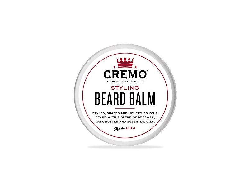 Cremo Styling Beard Balm, Mint Blend, 2 oz