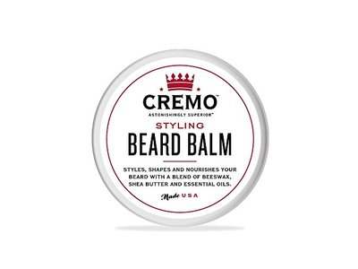 Cremo Styling Beard Balm, Mint Blend, 2 oz