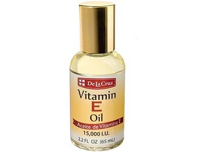 De La Cruz Vitamin E Oil, 2.2 oz (Pack of 4)