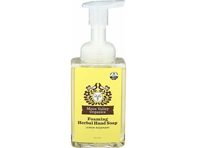 Moon Valley Organics Soap Hand Liquid Lemon Rosemary Organic, 8.8 Fl Oz