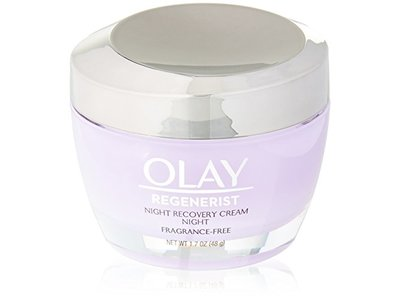 Olay Regenerist Night Recovery Cream & Face Moisturizer, 1.7 Ounce - Image 1