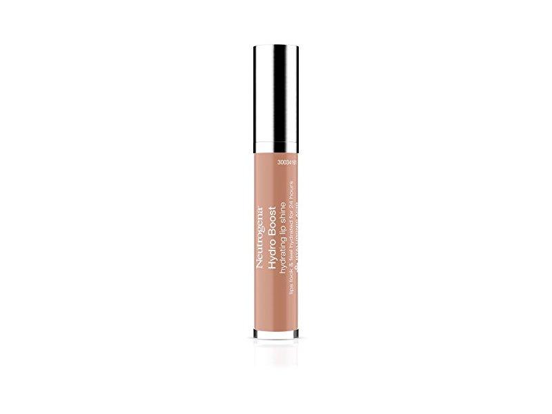 Neutrogena Hydro Boost Hydrating Lip Shine, 15 True Nude, 0.1 Ounce