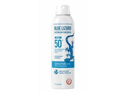 Blue Lizard Mineral Sunscreen Spray, Sensitive, SPF 50+, 5 fl oz
