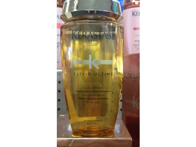 Kerastase Elixir Ultime Sublime Cleansing Oil Shampoo, 8.5 fl oz - Image 3