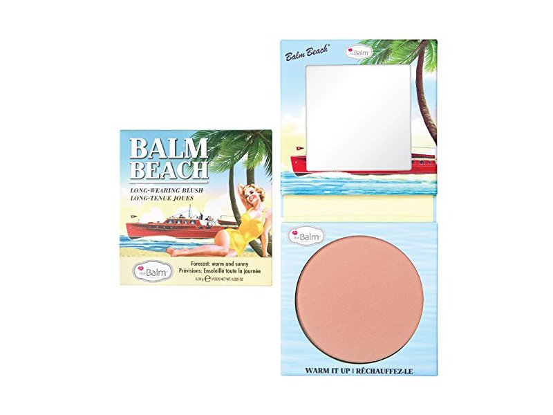 theBalm Balm Beach Face Blush warm it up, .197 oz