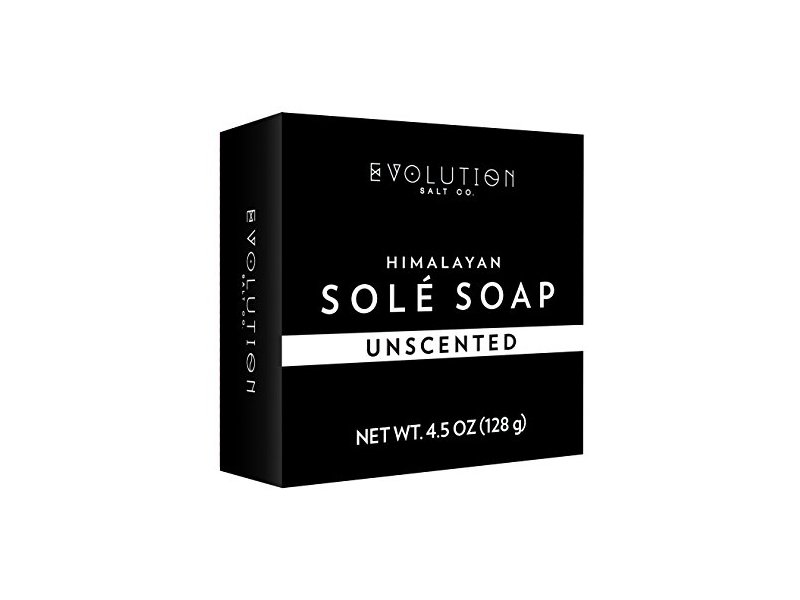 Evolution Salt Natural Himalayan Sole Bath Soap 4.5 oz