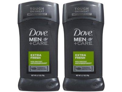 Dove Men +Care Antiperspirant, Extra Fresh, 2.7 oz