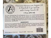 Signature Club A Precious Moroccan Argan Oil & Baobab Eye Serum With Hemp Seed OIl, 1 fl oz/29.5 mL - Image 3