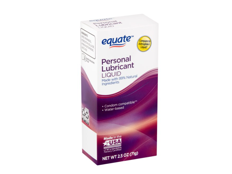 Equate Personal Lubricant Liquid, 2.5 oz (71 g)