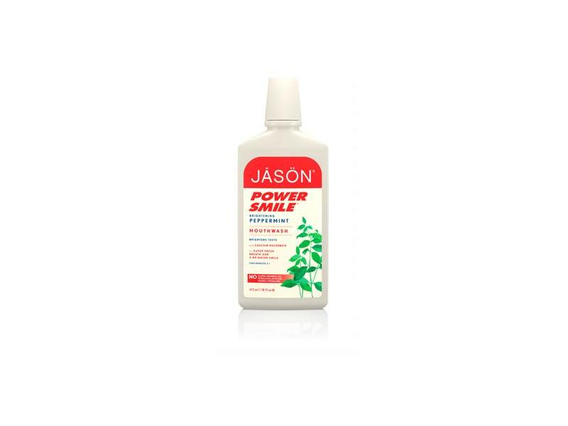 Jason Natural Products PowerSmile Mouthwash, 16 Ounce