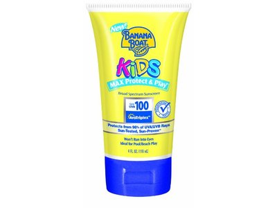 Banana Boat Kids Sunblock Lotion, SPF 100, 4-Ounce
