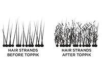 TOPPIK Hair Building Fibers, Dark Brown, 1.94 oz. - Image 4