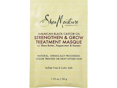 SheaMoisture Jamaican Black Castor Oil Strengthen & Grow Treatment Masque, 1.75 fl oz