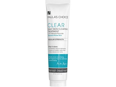 Paula's Choice Clear Acne Treatment Regular Strength with 2.5% Benzoyl Peroxide for Moderate Acne - 2.25 oz