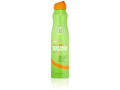 Garnier Fructis Style Sleek & Shine Sleek Finish 5-In-1 Serum Spray, 6 oz