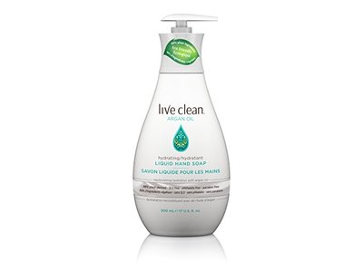 Live Clean Argan Oil Replenishing Liquid Hand Soap, 17 oz. - Image 1