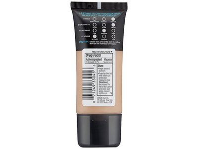 L'Oreal Paris Cosmetics Infallible Pro-Glow Foundation, Natural Buff, 1 Fluid Ounce - Image 4