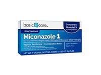 Basic Care Miconazole 1 Vaginal Antifungal, Combination Pack - Image 4