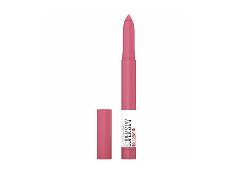 Maybelline Superstay Ink Crayon Matte Longwear Lipstick Makeup, Keep It Fun, 0.04 Oz
