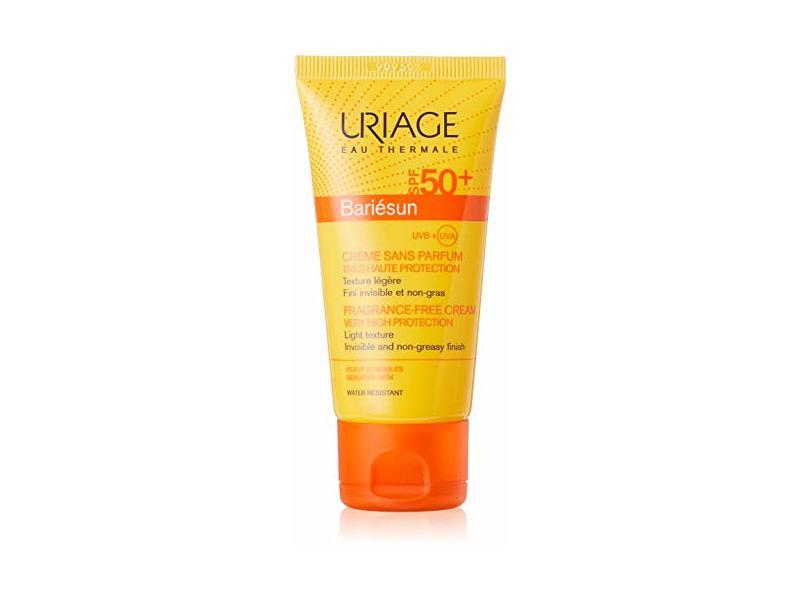 Uriage Bariésun SPF 50+, Fragrance-Free Cream, 50ml