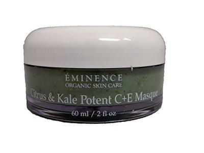 Eminence Organic Citrus & Kale Potent C Plus E Masque, 2 Ounce