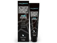 Cali White Activated Charcoal & Coconut Oil Whitening Toothpaste, Pacific Mint, 4 oz - Image 2