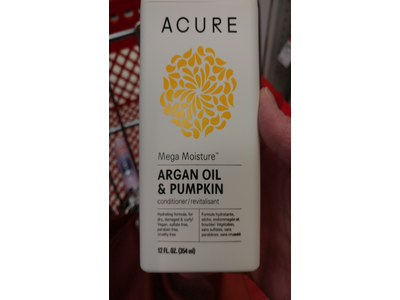 Acure Mega Moisture Conditioner, Argan Oil & Pumpkin, 12 Fluid Ounces - Image 4