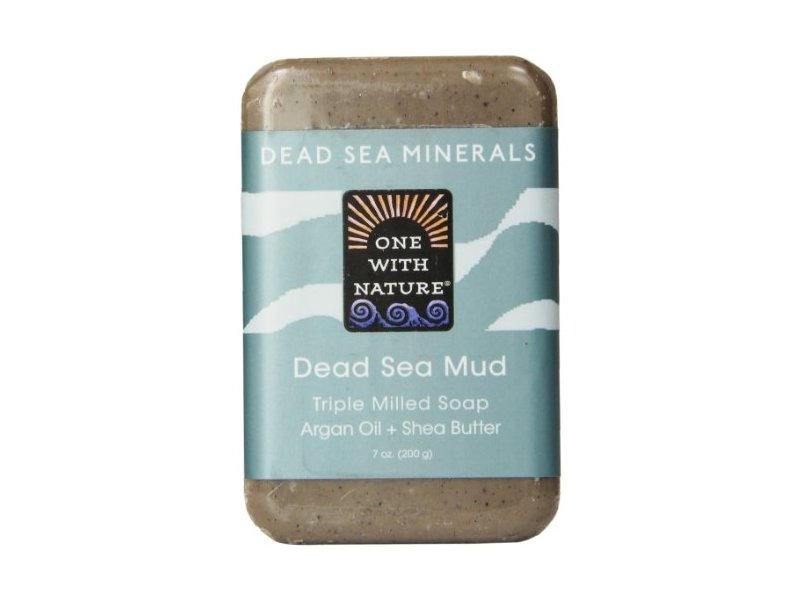 One With Nature Dead Sea Mud Minerals Soap, 7 Ounce