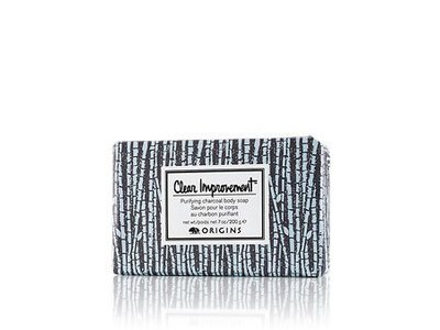 Origins Clear Improvement Purifying Charcoal Body Soap, 7 oz - Image 1