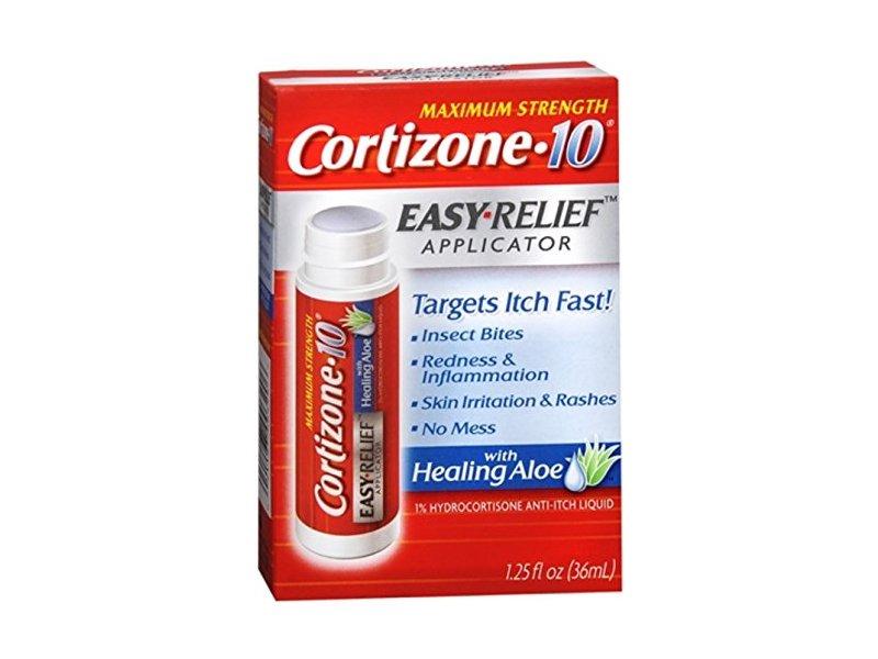 Cortizone-10 Easy Relief Applicator Anti-Itch Liquid, 1.25 oz