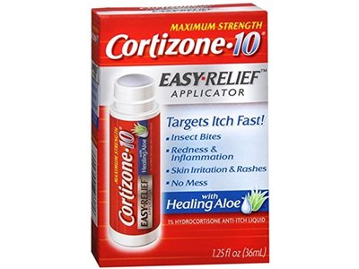 Cortizone-10 Easy Relief Applicator Anti-Itch Liquid, 1.25 oz