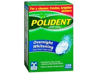 Polident Overnight Whitening Tablets, 120 ct - Image 2