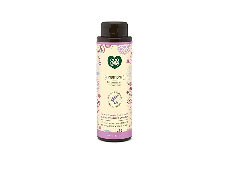 ecoLove Organic Conditioner for Colored Treated Hair, 17.6 oz