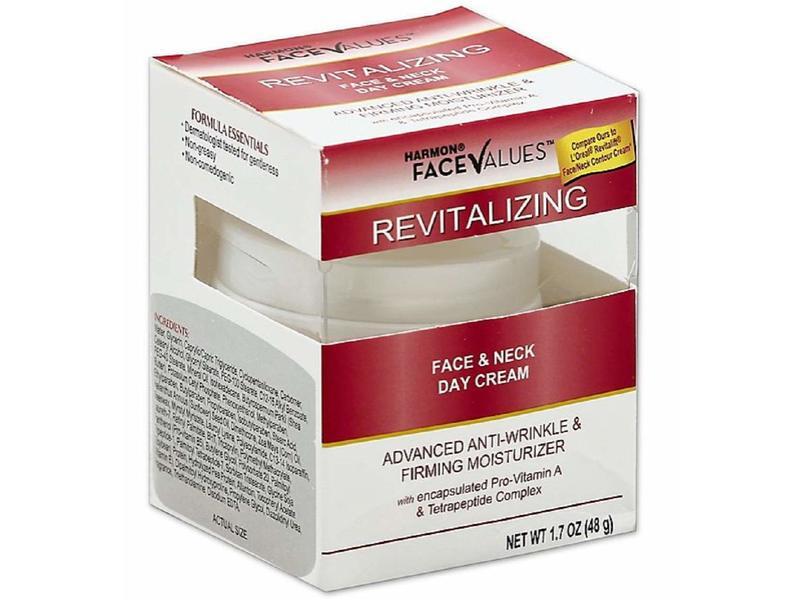 Harmon Face Values Revitalizing Day Cream Anti Wrinkle Moisturizer, 1.7 oz/48 g