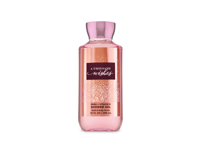 Bath & Body Works A Thousand Wishes Shower Gel, 10 fl oz
