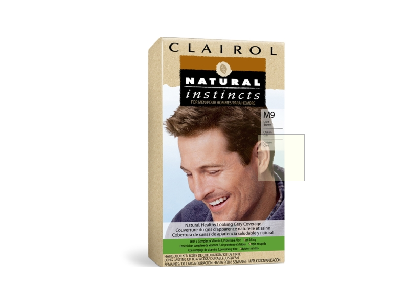 Clairol Natural Instincts For Men - All Shades Colorant, Developing Lotion & Conditioning Treatment, Procter &Gamble