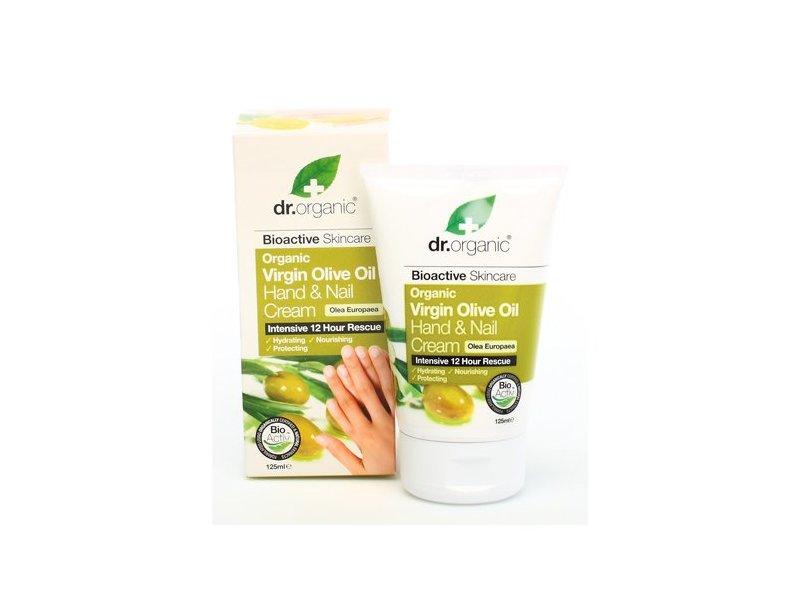 Dr Organic Organic Virgin Olive Oil Hand and Nail Cream, 4.2 fl.oz.