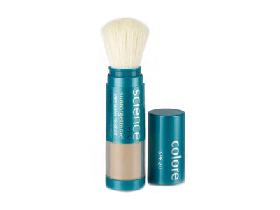 Colorescience Sunforgettable Mineral SPF 30 Sunscreen Brush, 0.21 oz