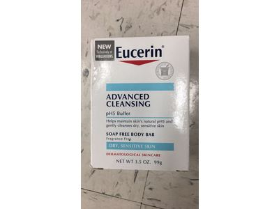 Eucerin Advanced Cleansing pH5 Buffer Beauty Bar, 3.5 oz - Image 3