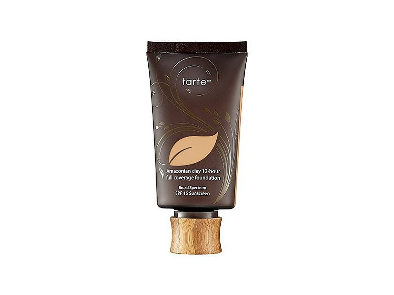 Tarte Amazonian Clay 12-Hour Full Coverage Foundation SPF 15, Light Medium Sand, 1.7 fl oz