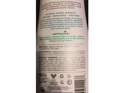 Attitude Natural Shampoo - Nourishing & Strengthening, Grape Seed Oil & Olive Leaves, 16 Fluid Ounce - Image 4