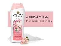 Olay Fresh Outlast Cooling White Strawberry & Mint Body Wash, 22 oz - Image 8