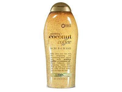 Ogx Body Scrub Coconut Coffee 195 Ounce 577ml 3 Pack